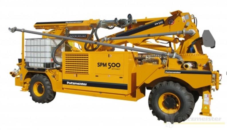 Торкрет установка SPM 500 Wetkret