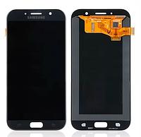 Оригинальный дисплей (модуль) + тачскрин (сенсор) для Samsung Galaxy A7 2017 A720 | A720F (черный цвет)