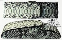 Футляр для очков из натуральной кожи питона