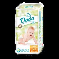 Подгузники детские DADA Extra Soft (3) midi 4-9кг 60 шт