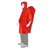 Накидка-пончо Tatonka Cape Man XL Red TAT 2798.015
