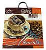 "Пакет с пластиковой ручкой (пакет-пластик) ""Coffee magic moments"""