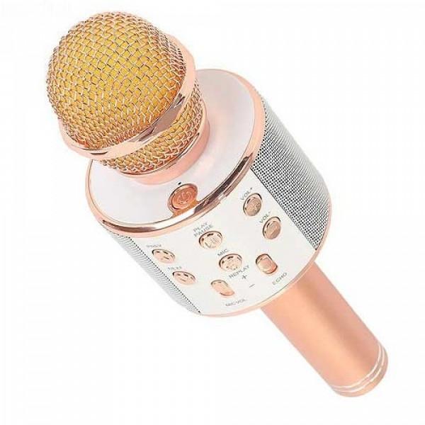 Bluetooth микрофон для караоке WSTER WS-858 - Старспорт в Киеве