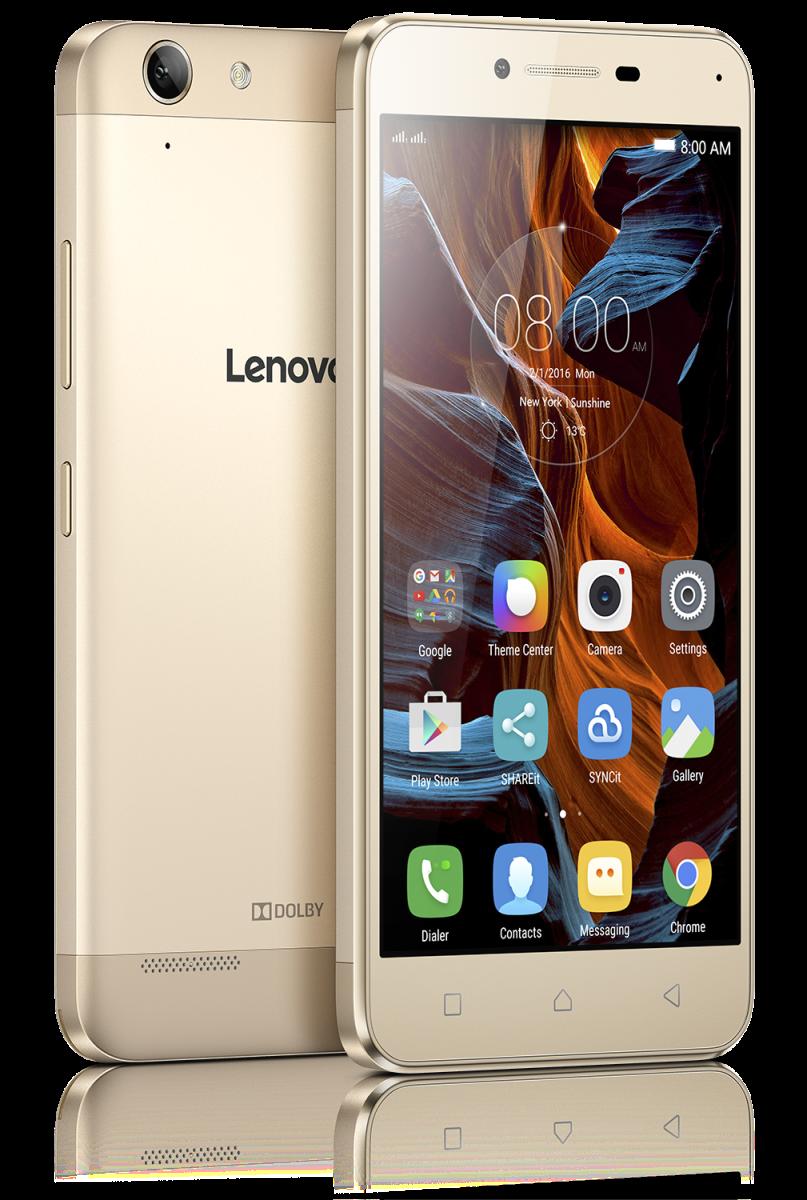 Смартфон Lenovo K5 Plus (A6020a46) золотой