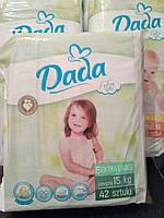 Подгузники Dada Premium Extra Soft 6 15+кг, 42шт (памперсы Дада)