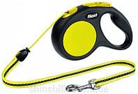 Flexi NEON - поводок-рулетка для собак 3 м до 12 кг
