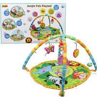Развивающий детский коврик «Друзья из джунглей» Jungle Pals Play Winfun