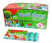 Жевательная резинка Fruit Dent блистер арбуз 24 шт (ILHAM)