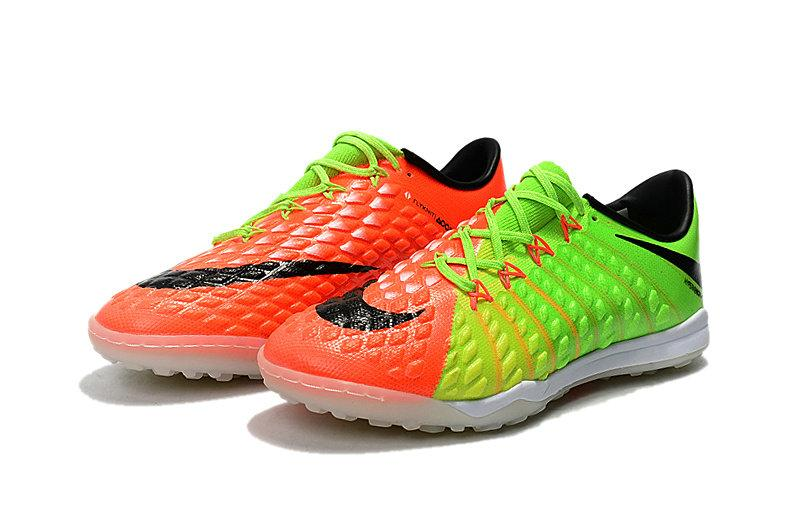 ... Сороконожки Nike Hypervenom Phantom III TF Orange-Green-Black, фото 3 442df925c54
