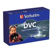 Видеокассета мини DVC   Verbatim 60мин(Супер цена!!!)
