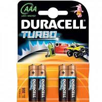 Батарейка        LR03 Duracell Turbo  блистер по 4шт(Акция!!!)