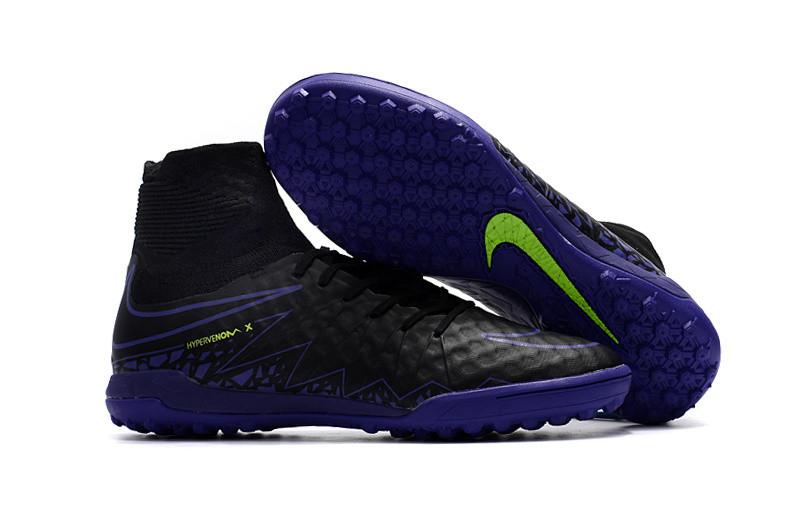 Сороконожки  Nike HypervenomX Proximo TF black с носком