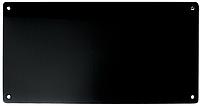Стеклянный инфракрасный обогреватель Sun Way SWG–450 RA / чёрный / с терморегулятором