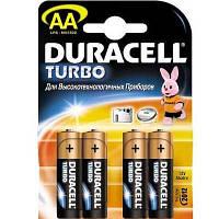 Батарейка      LR6 Duracell Turbo Max 1шт, блистер по 4шт(Акция)