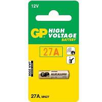 Батарейка 27A GP 12B блистер (для сигнализации)