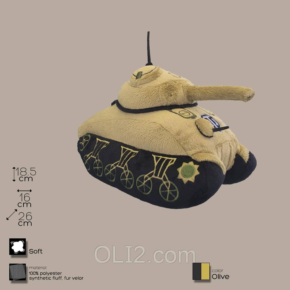 Плюшевая игрушка танк М-4