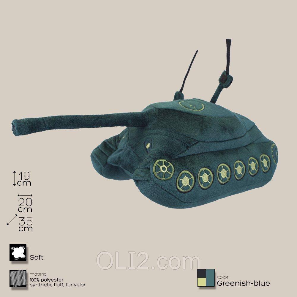 Плюшевая игрушка танк ИС-7