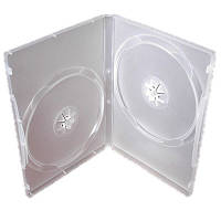 Коробка     2DVD-BOX 14mm Clear glossy