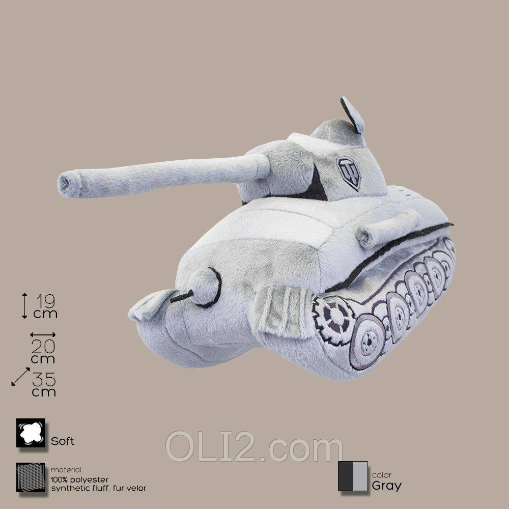 Плюшевая игрушка танк Пантера.
