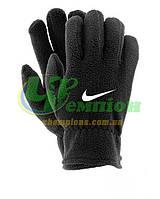 Зимние перчатки флис Найк