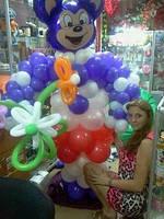 Мики маус  из Воздушных шаров