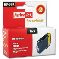 Картридж  ACTIVEJET  AC-6BK Canon BCi-6 Black