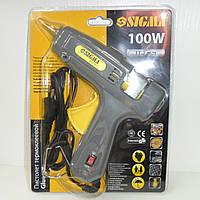 Клеевой пистолет Sigma 100w 11.2мм (2721101) с выключателем