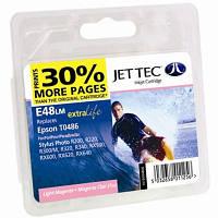 Картридж JET-TEC для Epson  E48lm  T0486  light magenta