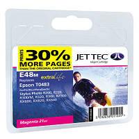 Картридж JET-TEC для Epson  E48m  T0483  magenta