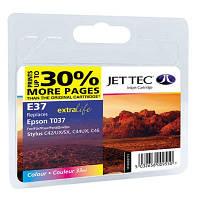 Картридж JET-TEC для Epson  E73  T037  color
