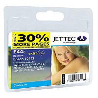 Картридж JET-TEC для Epson  E89c  T0442  cyan