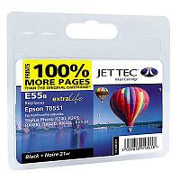 Картридж JET-TEC для Epson  E95b  T0551  black