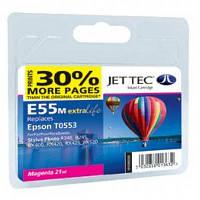 Картридж JET-TEC для Epson  E95m  T0553  magenta