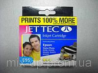 Картридж JET-TEC для Epson  E95y  T0443  yellow