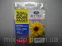 Картридж JET-TEC для Epson E117m  T0933  magenta