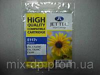 Картридж JET-TEC для Epson E117y  T0924  yellow