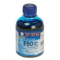 Чернила WWM для Epson  E50C Photo Universal Cyan 200ml