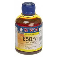Чернила WWM для Epson  E50Y Photo Universal Yellow 200ml
