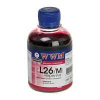 Чернила WWM для Lexmark L26/M magenta 200ml