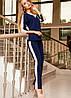 Универсальный женский костюм с лампасами (Саржа jd), фото 2