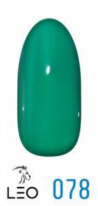 Гель-лак Leo №078 зеленый 9 мл