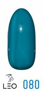 Гель-лак Leo №080 пыльный синий 9 мл
