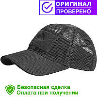 Бейсболка Helikon Baseball MESH Cap black (CZ-BBМ-PO-01)
