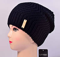 Женская вязаная шапка La Visio 168