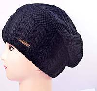 Женская шапка NORD 15011 черный