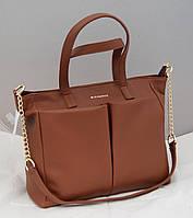 Женская сумка Givenchy, цвет светло-коричневый Живанши