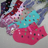 """Носки АНГОРА - махра для девочек, 21-26 р.  """"Корона"""" . Детские зимние  носки, носочки махровые  для"""