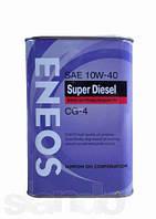 Моторное масло Eneos CG-4 10W40 Полусинтетика Дизель 1литр