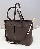Женская сумка Givenchy, цвет коричневый, шоколад Живанши