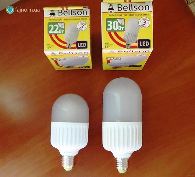 Bellson промышленная led лампа 27
